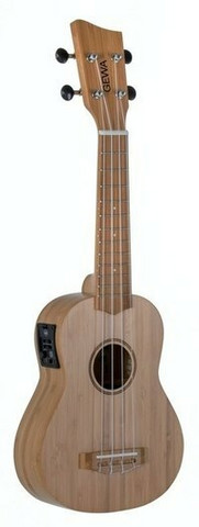 Manoa sopraano elektro-akustisk ukulele -