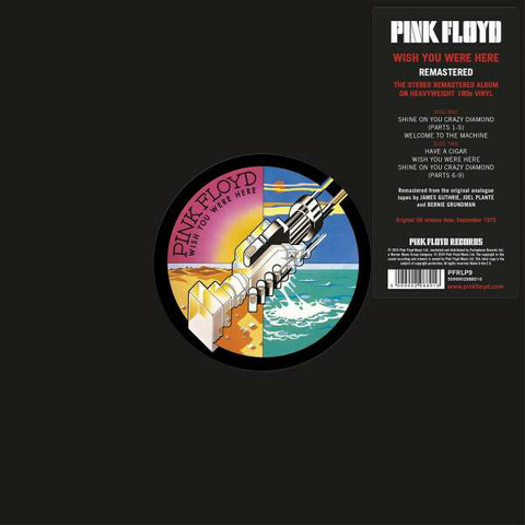 Pink Floyd: Wish You Were Here - Remastered LP