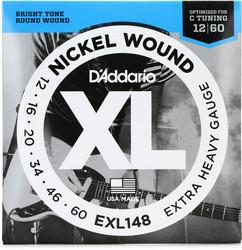 Daddario EXL148  012- 060 Srängset för elgitarr