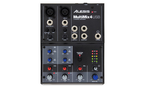 MultiMix 4 USB  4-Channel USB Audio Mixer & Interface
