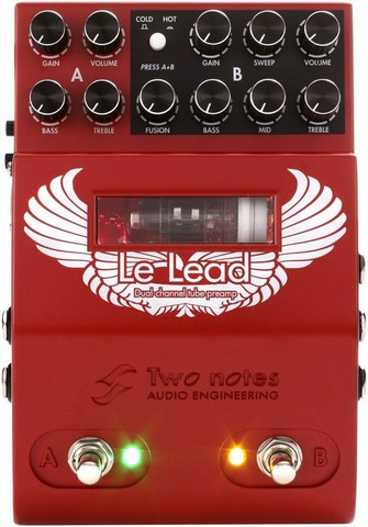 Two Notes: Le Lead -  Dual channel tube preamp