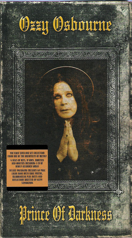Ozzy Osbourne ‎– Prince Of Darkness 4CD Box Set