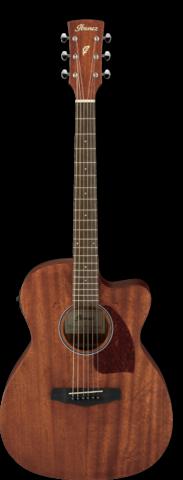 Ibanez PF12MHCE-OPN- elektroakustisk stålsträngad gitarr