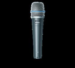 Shure Beta 57A - tiukasti suuntaava mikrofoni soittimille