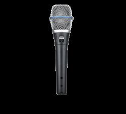 Shur Beta 87A - kondensaattorimikrofoni laululle ja puheelle