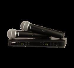 Shure BLX288E / PG58 kahden mikrofonin langaton mikkisetti