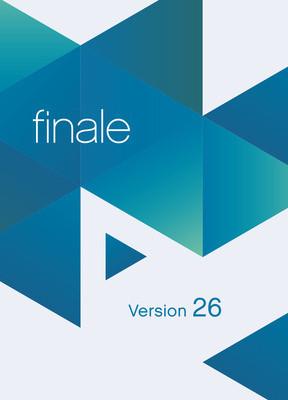 Finale V26 Academic - nuotinnusohjelma