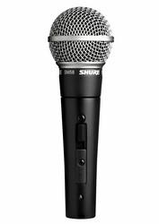 Shure SM 58-SE laulumikrofoni on/off kytkimellä