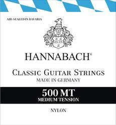 Hannabach 500MT nylonkielisarja kitaralle