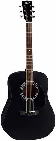 Cort AD-810 BKS - Stålsträngad gitarr
