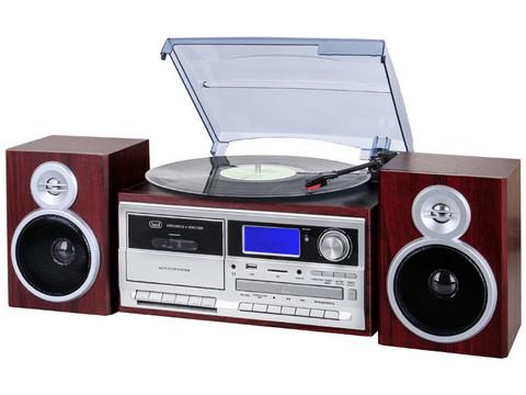 TT 1072 DAB Concerto Dark Wood Stereopaket - bluetooth