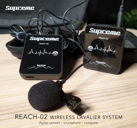Supreme Reach-02  wireless lavalier system