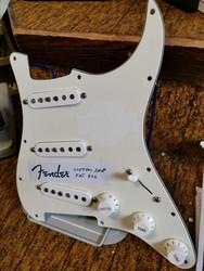 Fender Stratocaster, Custom Shop fat 50`s mickar & plexi