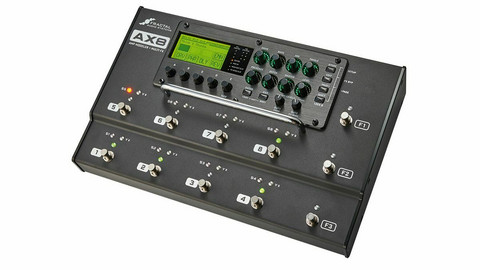Fractal Audio AX8 Amp Modeler/Multi-FX Processor -käytetty