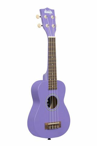 Kala Ukadelic Ultra Violet Soprano Ukulele + gigbag