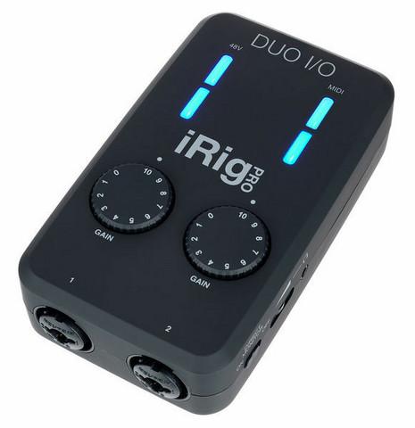 iRig Pro Duo I/O - Audio /Midi interface