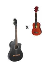 Gewa elektroakustinen klassinen kitara seetri 4/4 koko - Uutuus