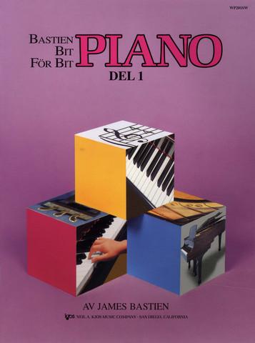 BASTIEN BIT FÖR BIT PIANOSKOLA 1