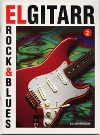 ELGITARR 2 ROCK & BLUES +CD  K G JOHANSSON