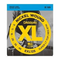 Daddario EXL125 009-046 Strängset för elgitarr