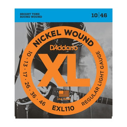 Daddario EXL110  010-046 Strängset för elgitarr