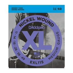 Daddario EXL115 011-049 Strängset för elgitarr