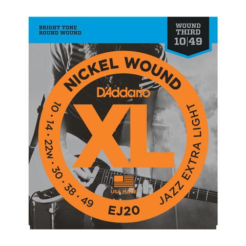 Daddario EJ20 010-049 Strängset för elgitarr