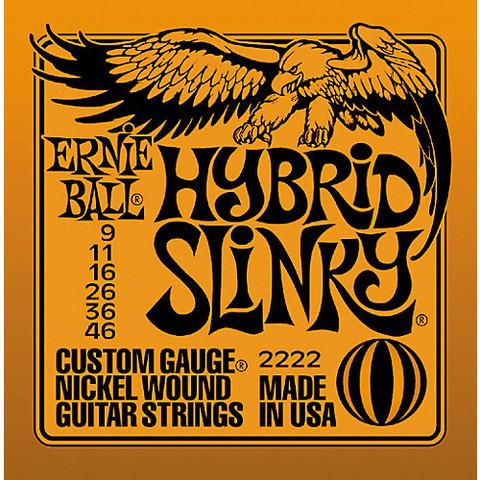 ERNIE BALL Hybrid Slinky 009-046 Sähkökitaran kielisarja