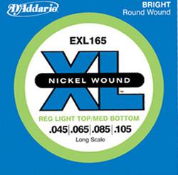 Daddario EXL165    Nickel Wound   45-105  Basson kielisarja
