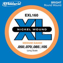 Daddario EXL160  Nickel Wound 50-105  Basson kielisarja