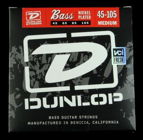 Dunlop Nickelplated steel   45-105  till 4-strängad elbas