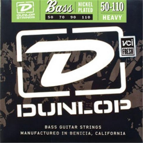 Dunlop Nickelplated steel   50-110  Basson kielisarja