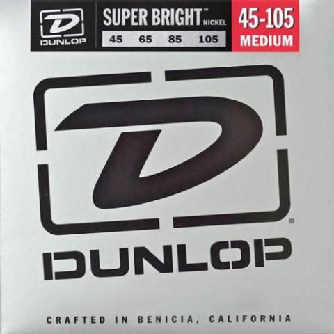 Dunlop Nickel Wound 45-105 Super Bright   till 4-strängad elbas
