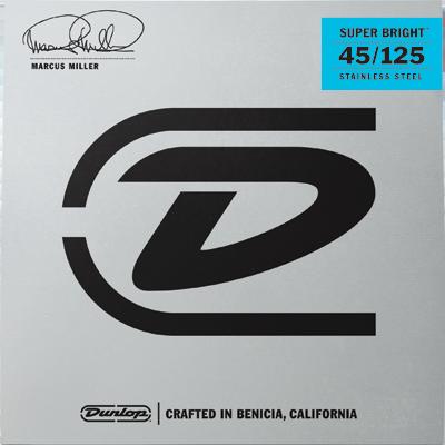 Dunlop Marcus Miller Nickel Wound 45-125 Super Bright  5-kielisen Basson kielisarja