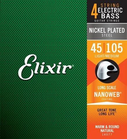 Elixir  NWB4  Nanoweb 045-105  Basson kielet