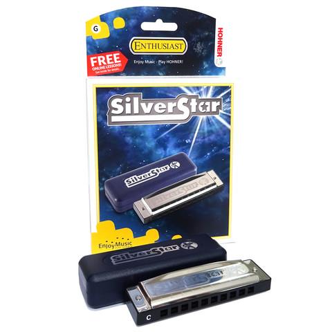 Hohner silverstar C - huuliharppu