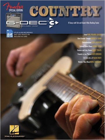 Fender G-Dec Country Guitar Play-Along With Smartcard