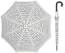 Sateenvarjo 86 cm, valkoinen