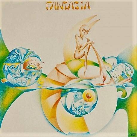 Fantasia: Fantasia LP  (Mellotron Records Italy )