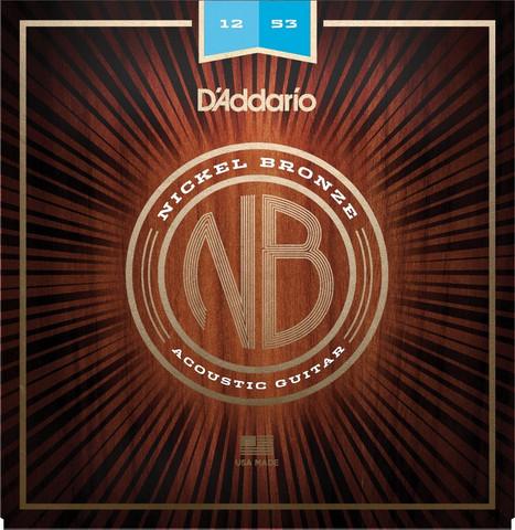 Daddario NB1253 Nickel Bronze Set
