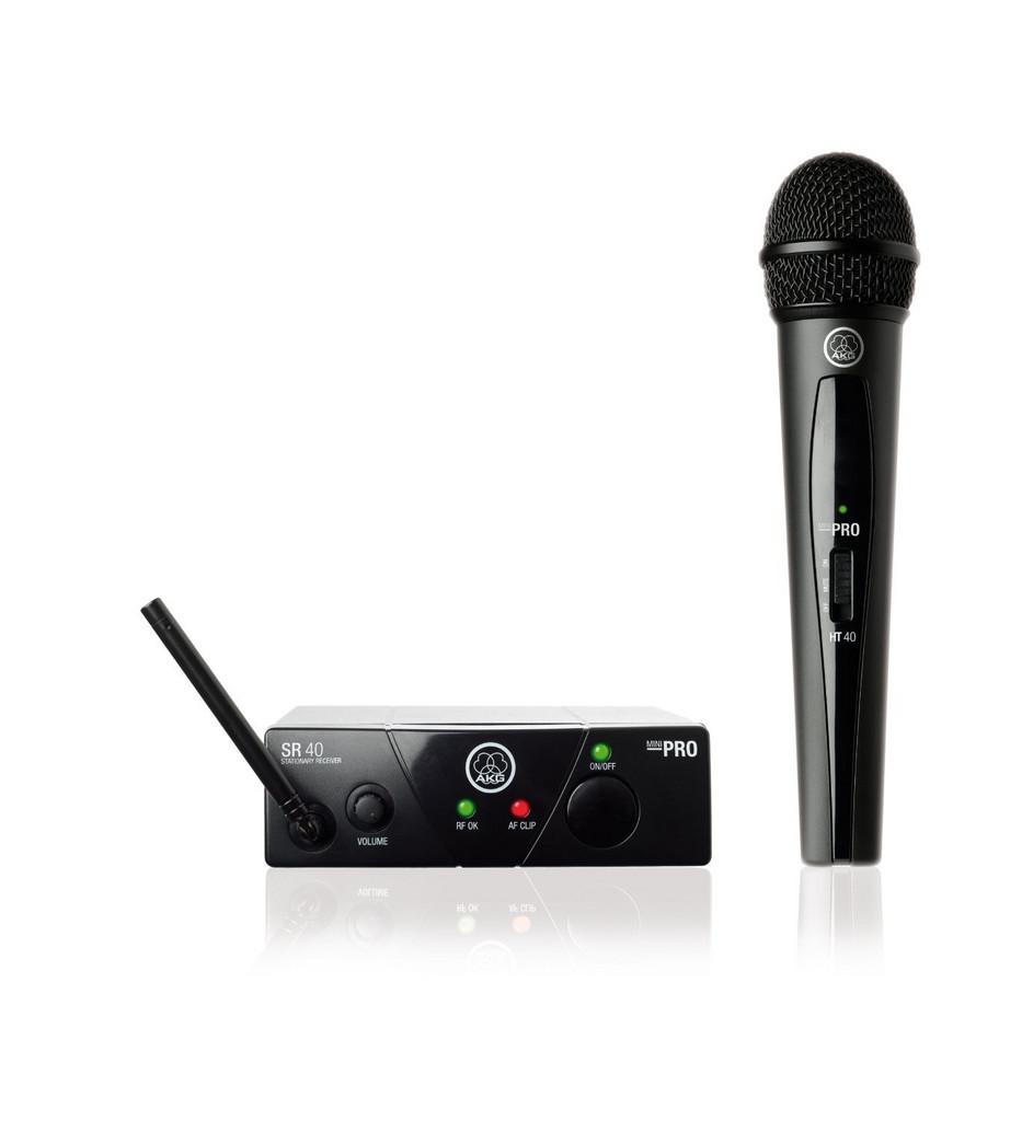 Mikrofoni langaton