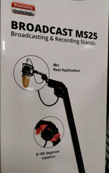 Supreme Podcast MS25 PRO - Podcast & Recording Micstand