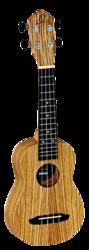 Ortega RFU-10Z  ukulele, sopran storlek- zebrawood
