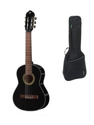 GEWA Klassisk gitarr Student Black - 1/2 storlek