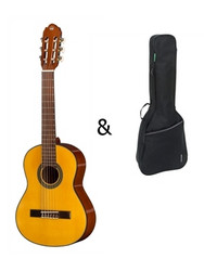GEWA Elektro-akustisk klassisk gitarr Student Natural - 4/4 storlek
