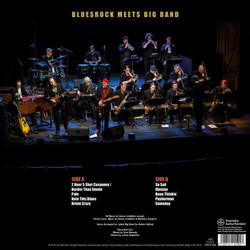 St.Marcus Bluesband feat. Jakob Big Band - Bluesrock Meets Big Band (LP)