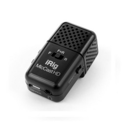 iRig Mic Cast HD Pocket-Sized Microphone for iPhone, iPad, and Android