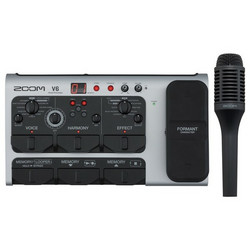 Zoom V6 Vocal Processor  - laulajille