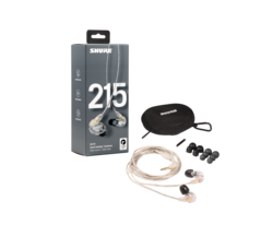 Shure SE215-LC in-ear headphones