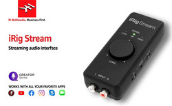 iRig Stream - streaming audio interface